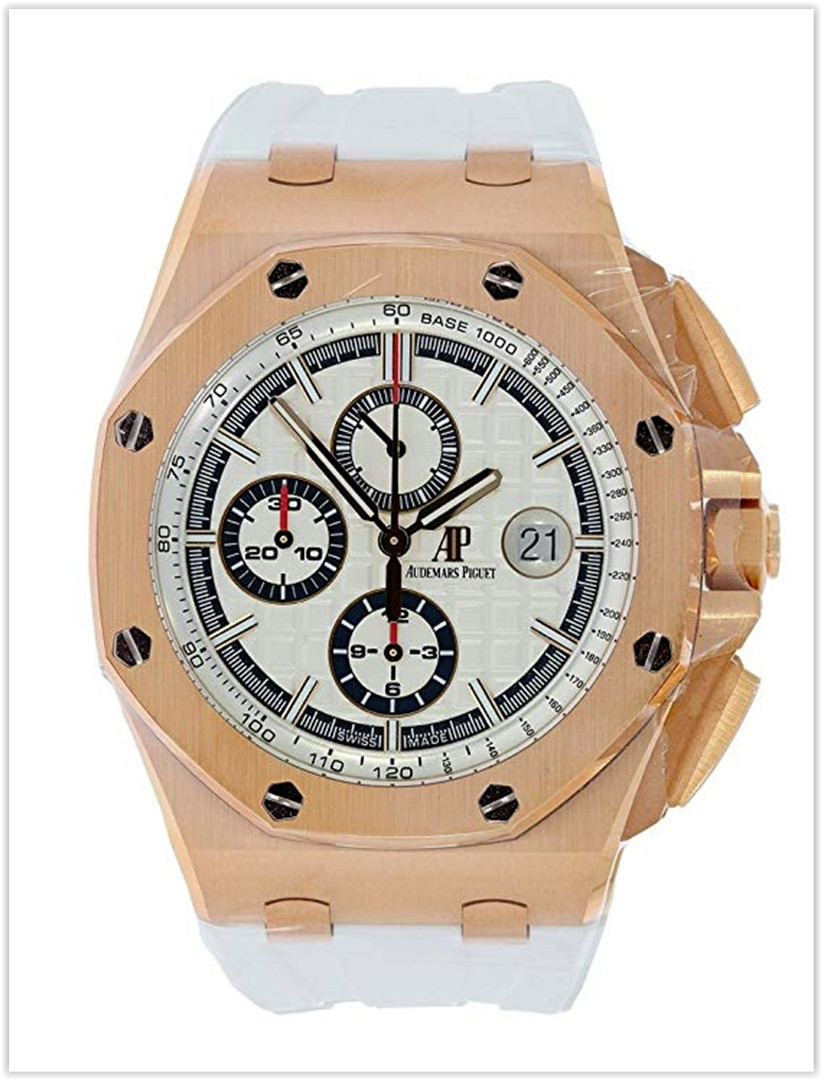 AUDEMARS PIGUET ROYAL OAK OFFSHORE 18K ROSE GOLD (BYBLOS EDITION) Men's watch price