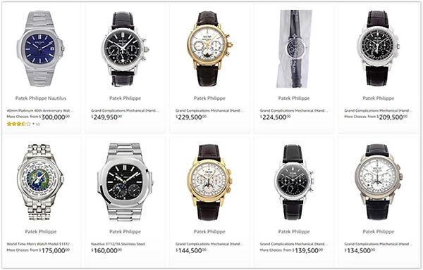 Used Patek Philippe Watches