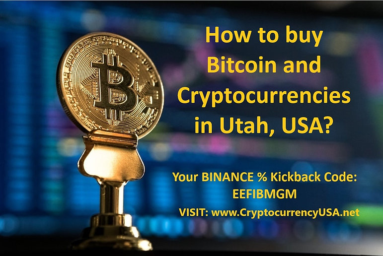 How to buy Bitcoin and cryptocurrencies in Utah, USA?