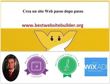 Crea un sito Web passo dopo passo