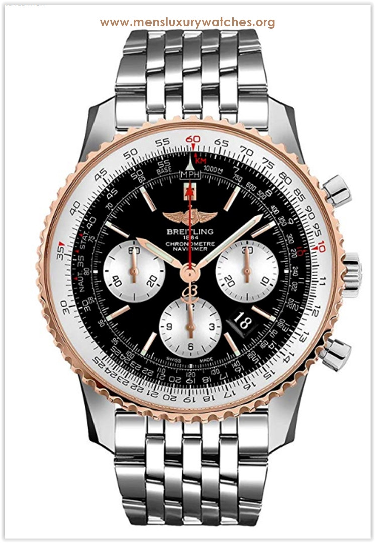 Breitling Navitimer 01 Stainless Steel & Rose Gold 46mm Men's Watch Price