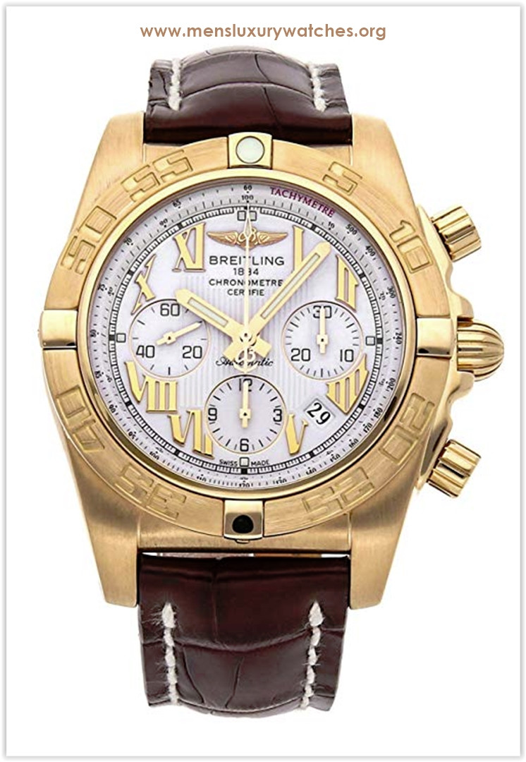 Breitling Chronomat Mechanical (Automatic) White Dial Men's Watch