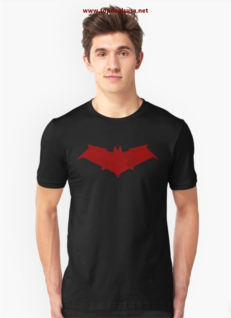 The Red Hood Slim Fit T-Shirt best buy