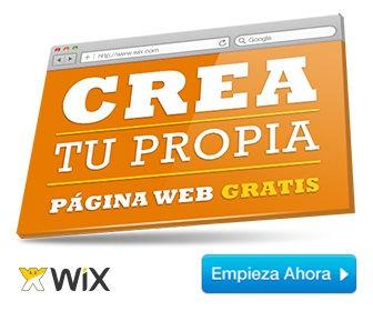 Wix registrarse