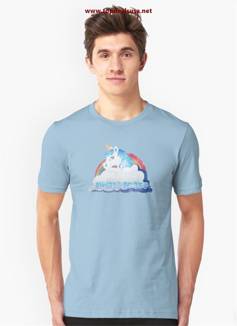 Unicorn Bob Stone Slim Fit T-Shirt best buy