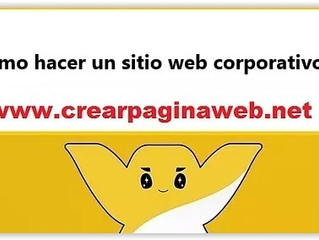 ¿Cómo hacer un sitio web corporativo?