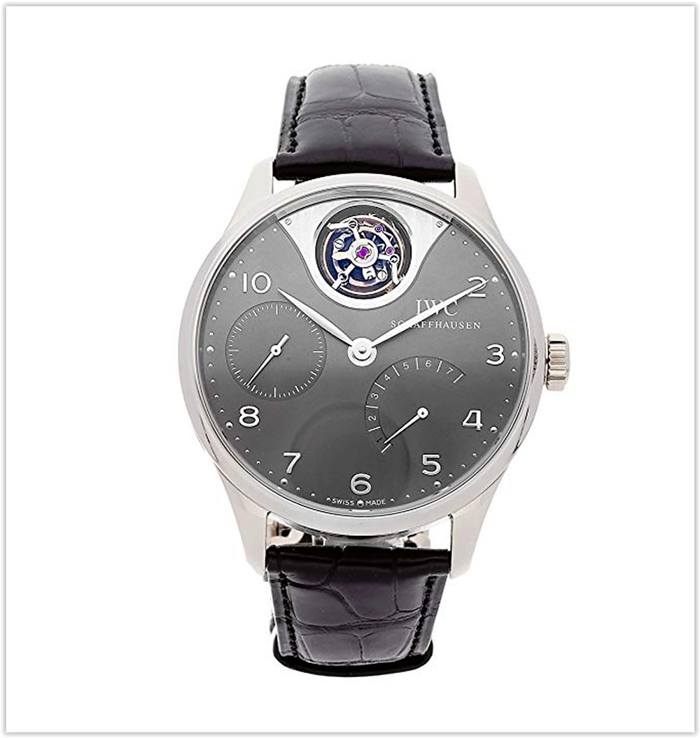IWC Portugieser Mechanical (Automatic) GreyCharcoal Dial Men's Watch best price