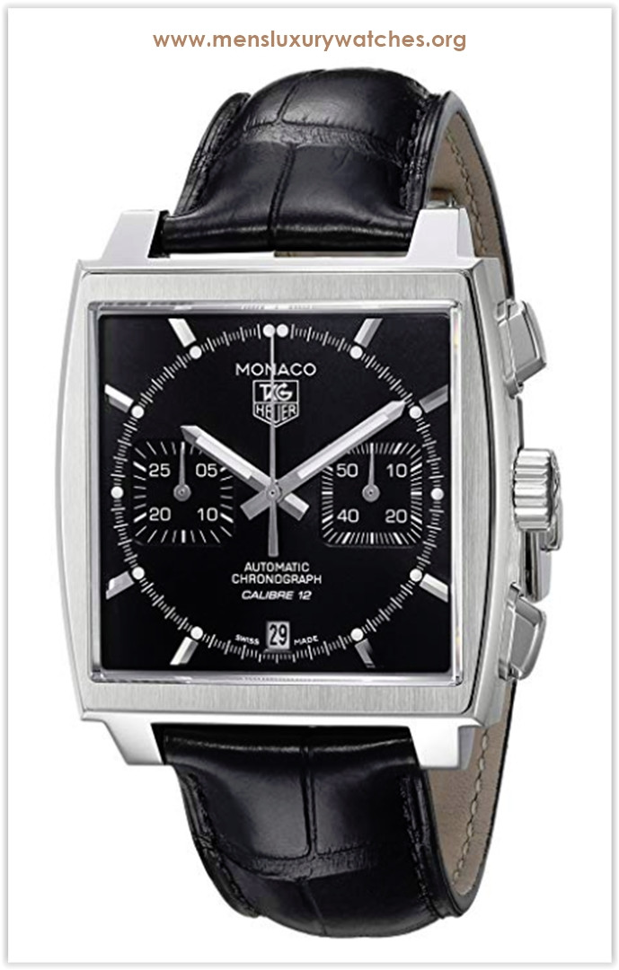 TAG Heuer Monaco Calibre 12 Automatic Chronograph Men's Watch Price