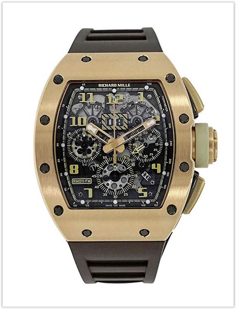 Richard Mille RM 011 yellow Automatic-self-Wind Male Watch RM011 Price