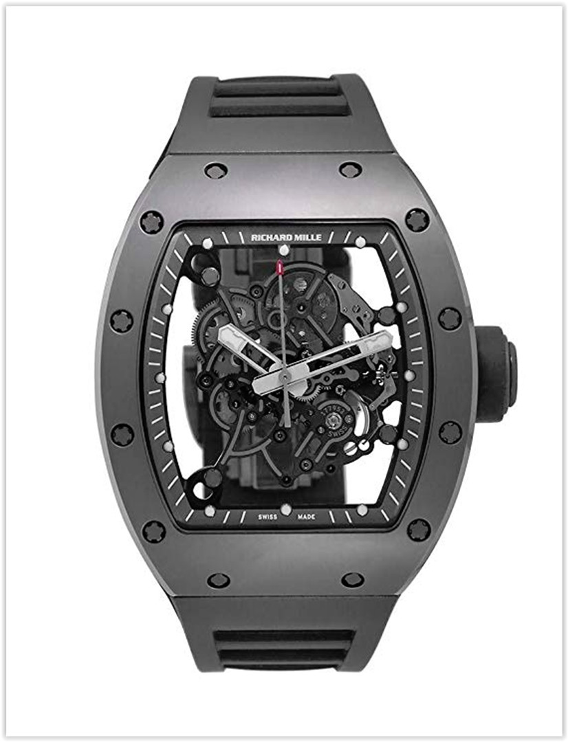 Richard Mille RM 055 Mechanical-Hand-Wind Male Watch RM055 Price