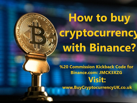 How to buy cryptocurrency with Binance?