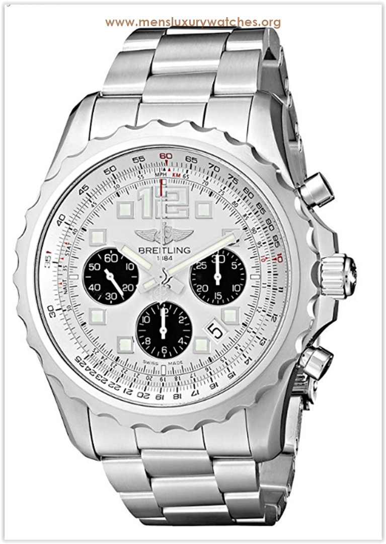 Breitling Chronospace Stainless Steel Men's Watch Price