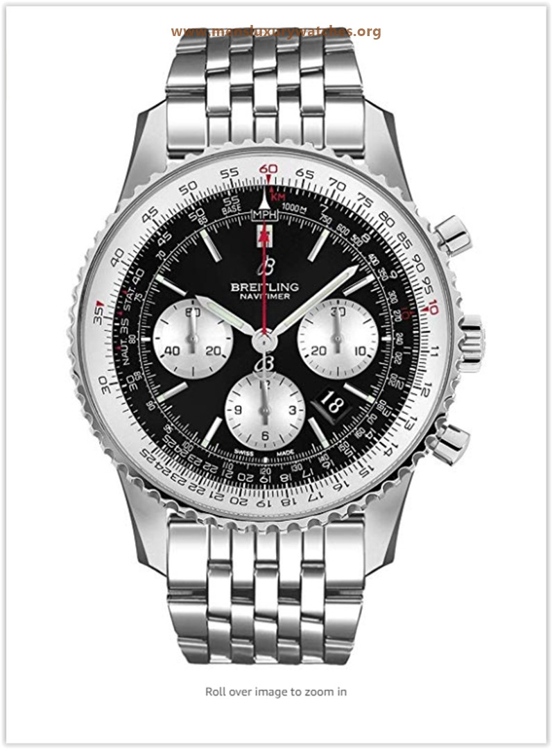 Breitling Navitimer 1 B01 Chronograph 46 Luxury Men's Watch Price