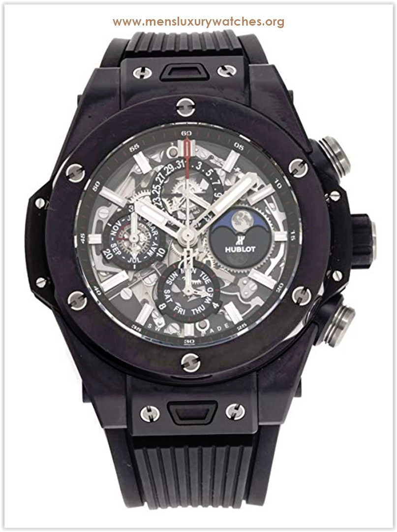 Hublot Big Bang Mechanical Skeletonized Dial Men's Watch Price