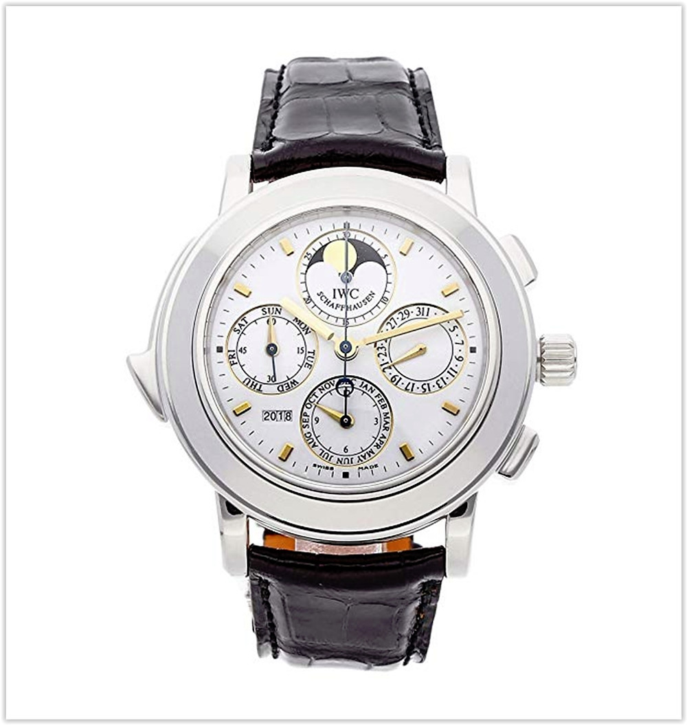 IWC Grand Complication Mechanical (Automatic) White Dial Men's Watch best price