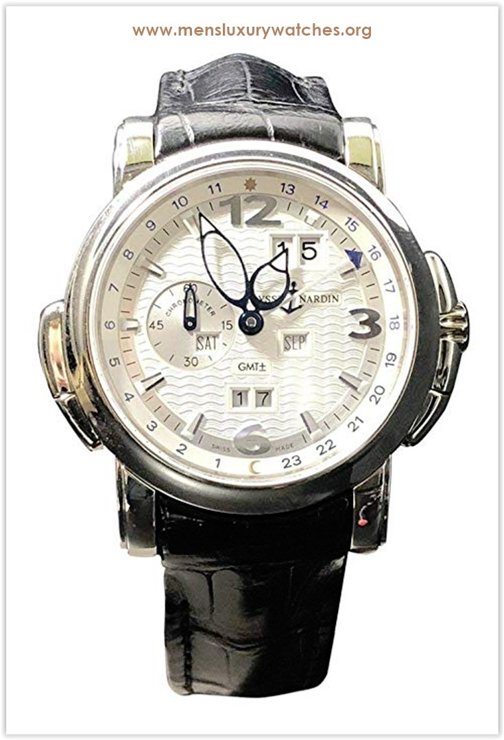 Ulysse Nardin GMT +- Perpetual 18KT White Gold Men's Watch the best price