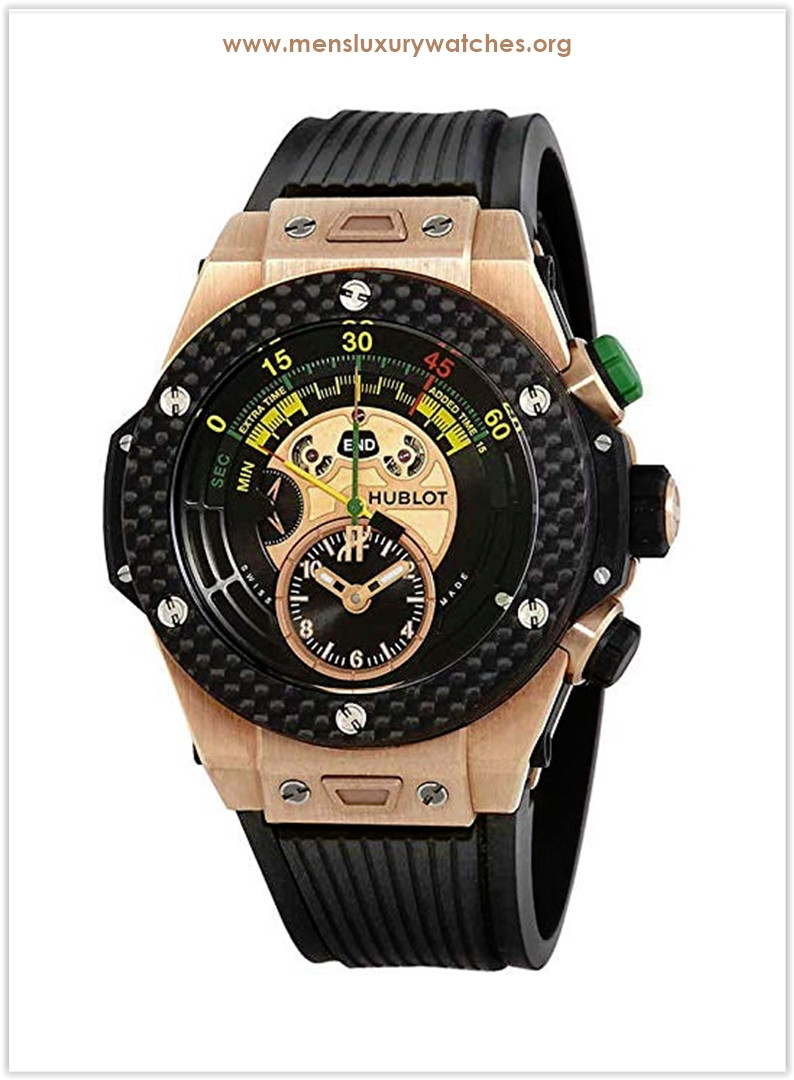 Hublot Big Bang Unico Bi-Retrograde FIFA 2014 Black Dial Men's Watch Price