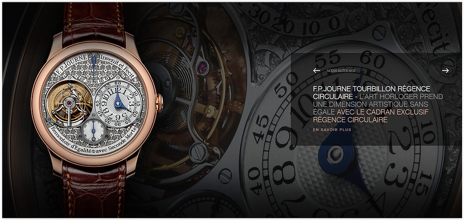 The F.P Journe Online Store