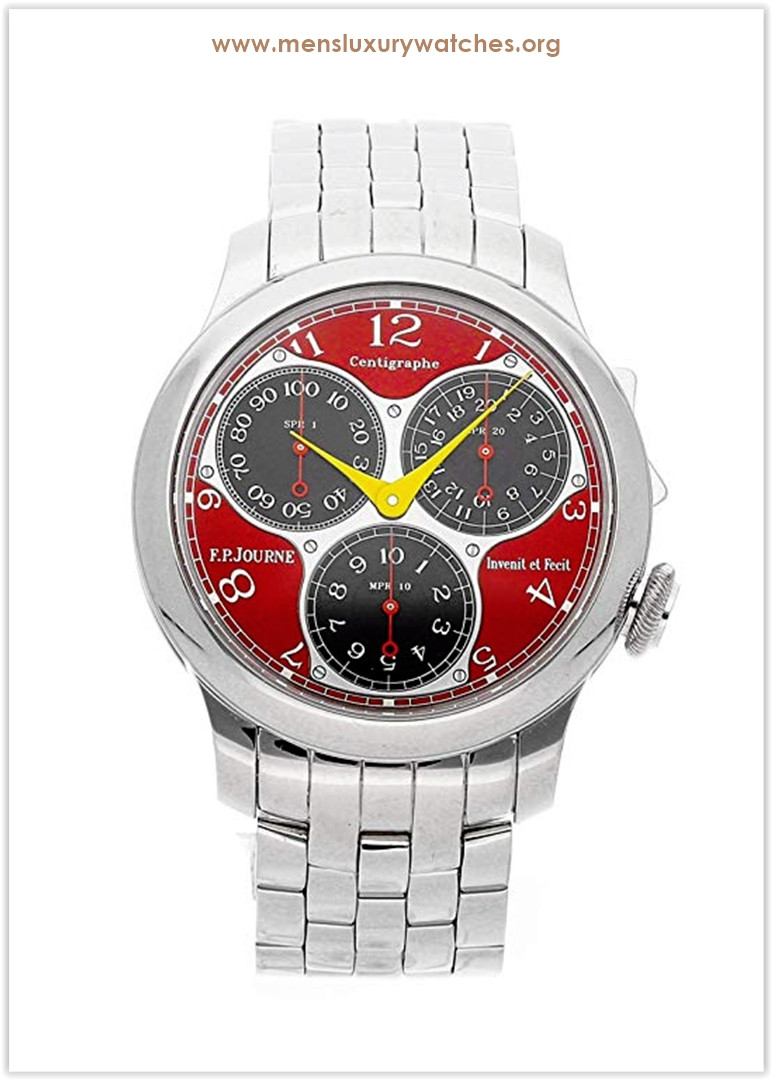 F.P. Journe Centigraphe Mechanical (Hand-Winding) Red Dial Men's Watch Centigraphe Souverain Price