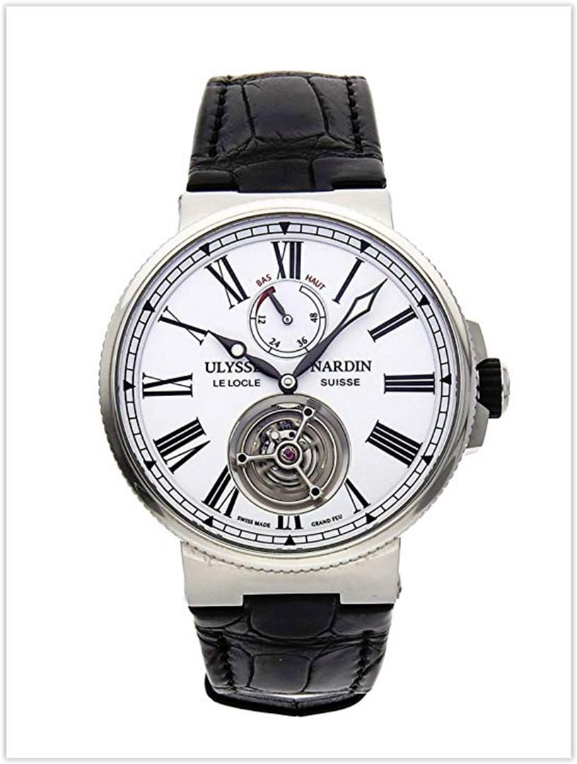 Ulysse Nardin Marine Mechanical White Dial Men's Watch price