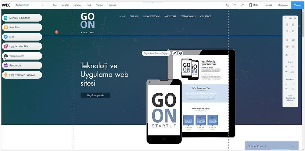 Teknoloji veya Uygulama için web sitesi nasıl yapılır?