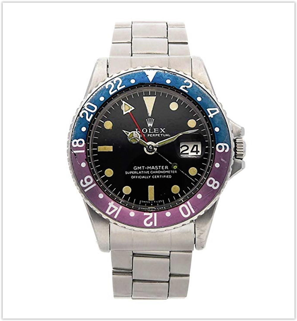 Rolex GMT Master Mechanical (Automatic) Black Dial Mens Watch best price