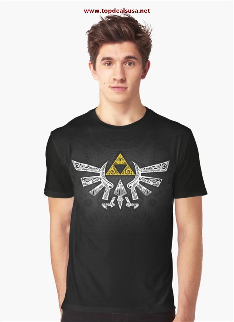 Zelda - Hyrule doodle Graphic T-Shirt best buy
