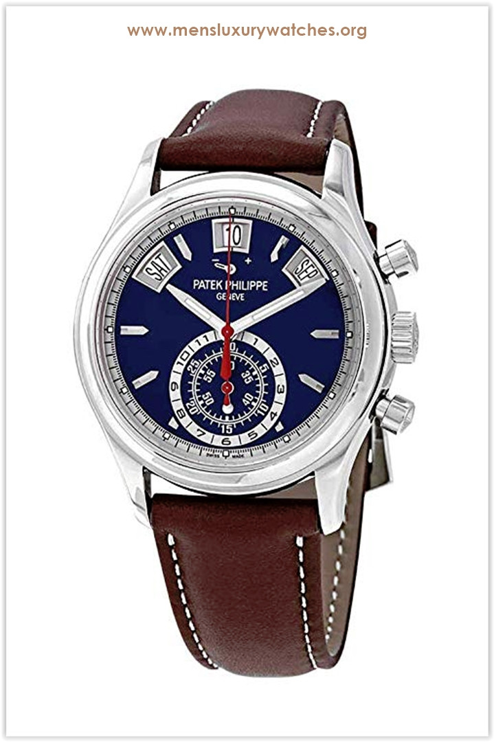 Patek Philippe Complications Mechanical (Automatic) Blue Dial Men's Watch 5960/01G-001 the best price