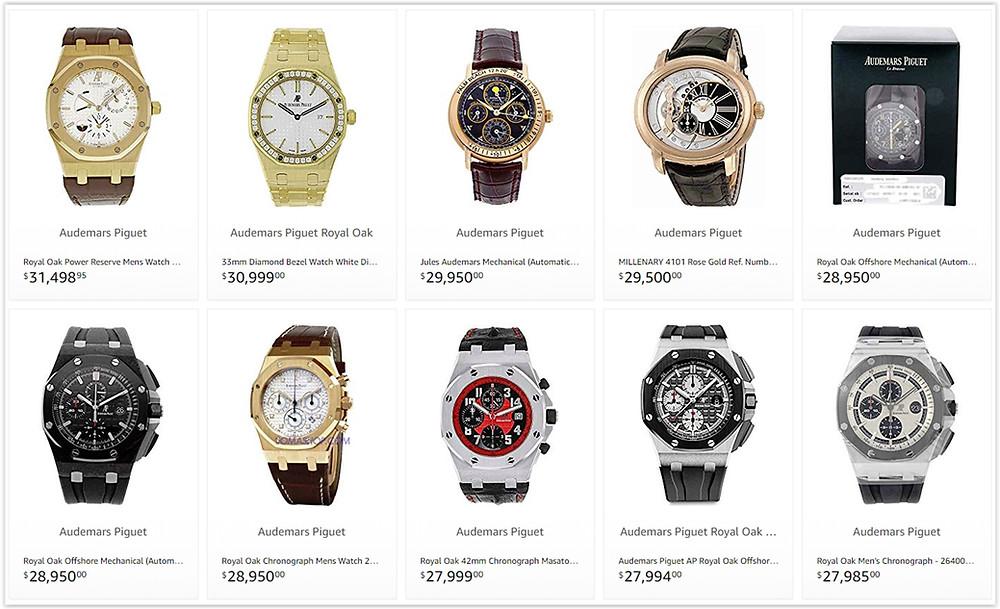 The Best Audemars Piguet Men's watches prices 10000 to 30000