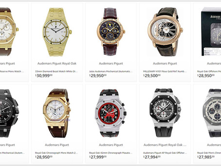 The Best Audemars Piguet Men's watches prices 10000 to 30000