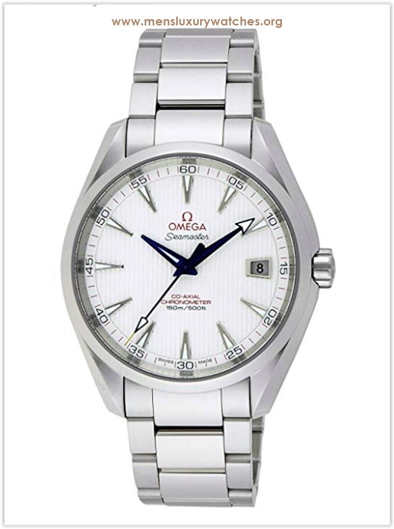 Omega Seamaster Aqua Terra Teak Opaline Silver Dial Steel Men's Watch Price