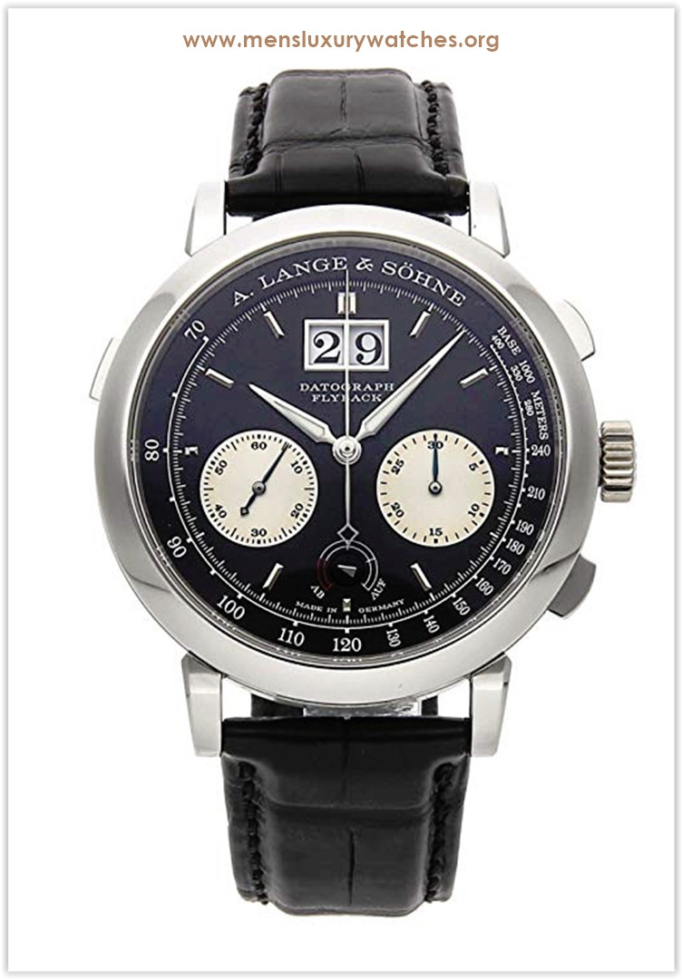 A. Lange & Sohne Datograph Mechanical (Hand-Winding) Black Dial Men's Watch Price