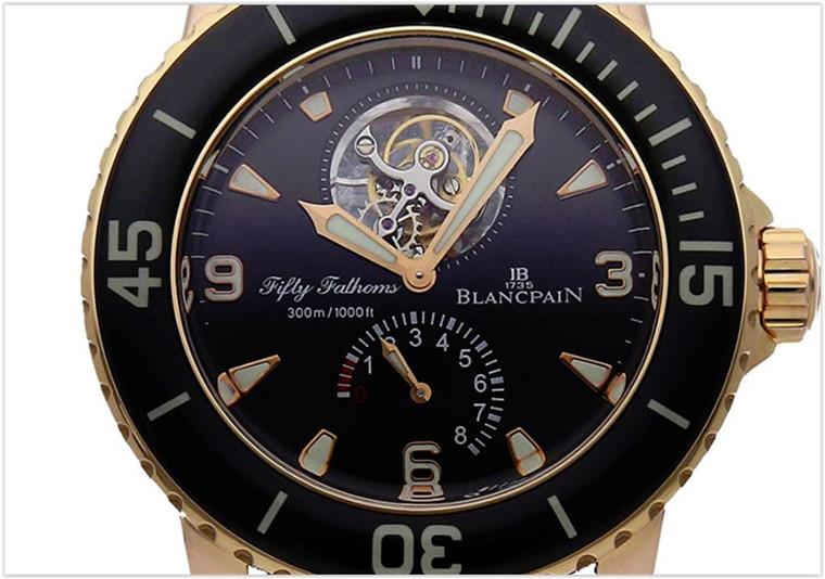 Blancpain Fifty Fathoms MechanicalBlack Dial Mens Watch