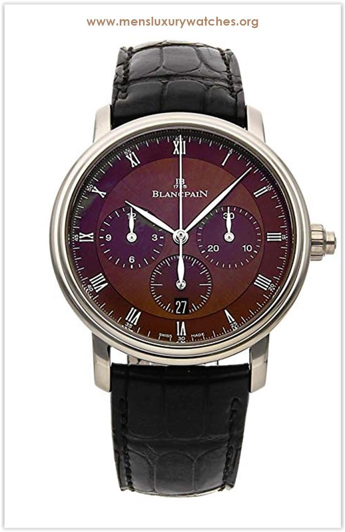 Blancpain Villeret Mechanical (Automatic) Brown Dial Men's Watch