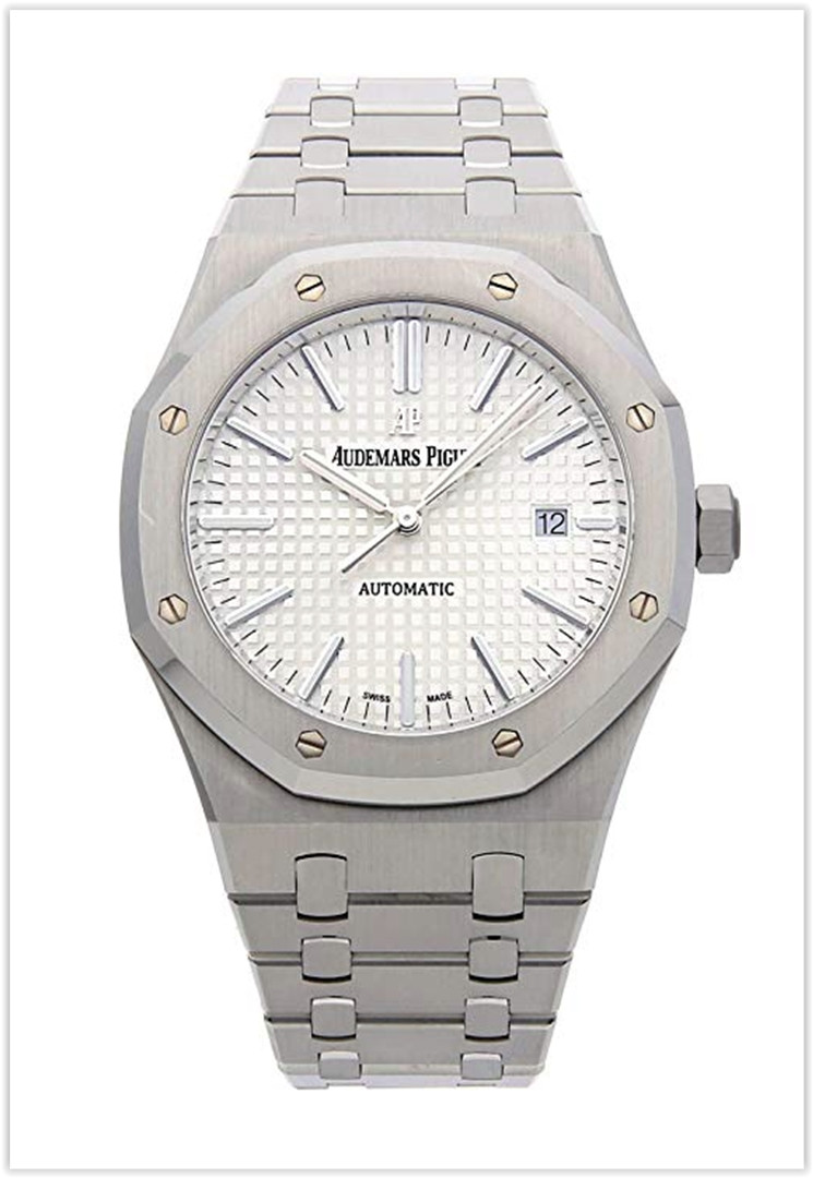 Audemars Piguet Royal Oak Mechanical (Automatic) Silver Dial Men's Watch Price