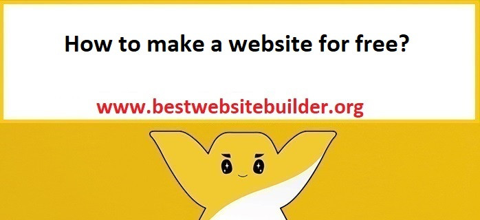 How to make a website for free?