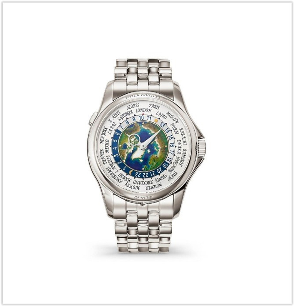 Patek Philippe Camplication World Time Platinum Watch
