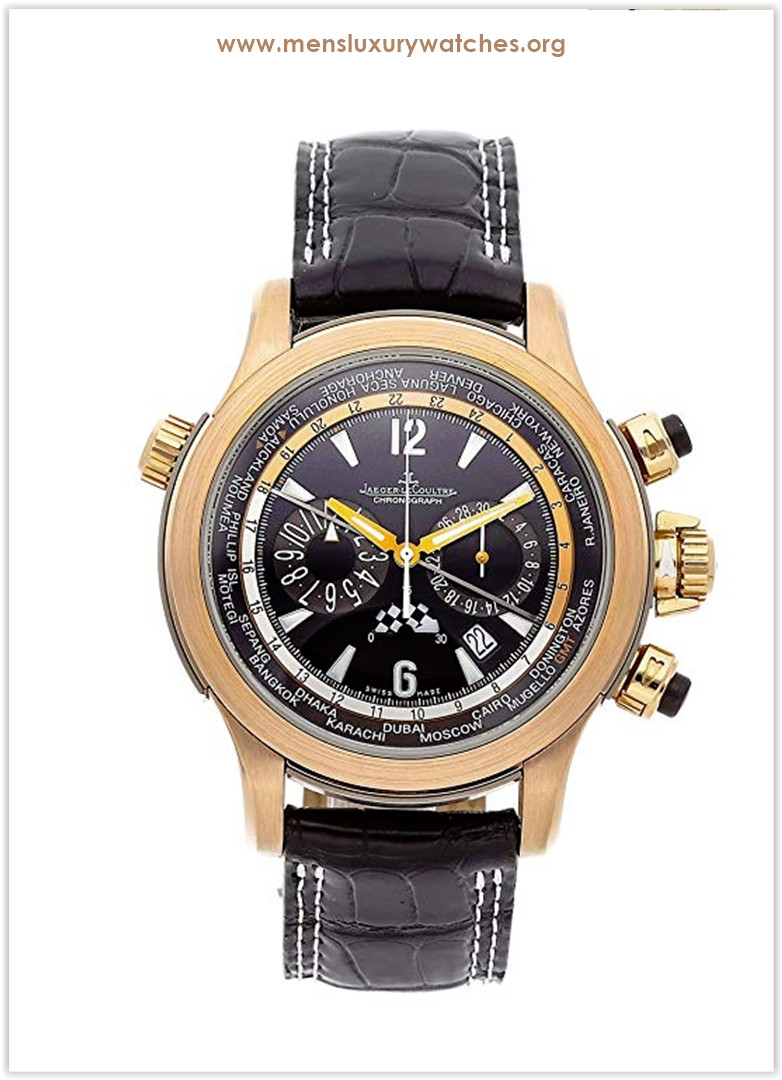 Jaeger-LeCoultre Master Compressor Mechanical (Automatic) GreyCharcoal Dial Men's Watch the Best Price