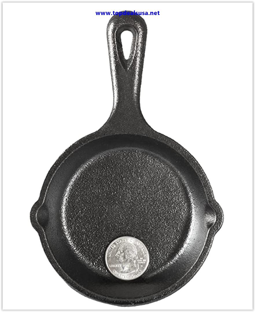 Best buy Lodge 742341 Miniature Skillet, 3.5, Black