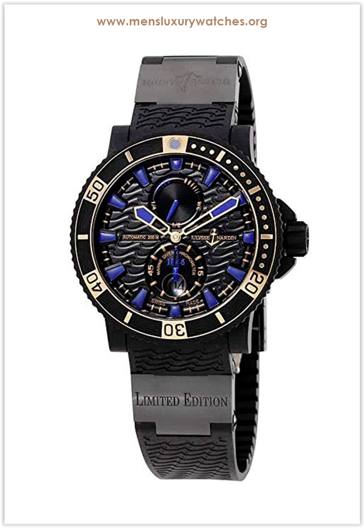 Ulysse Nardin Maxi Marine Diver Black Seal Automatic Men's Watch the best price