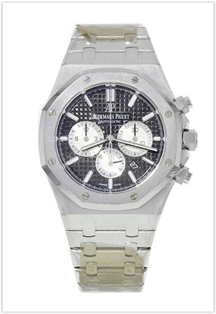 Audemars Piguet AP Royal Oak Chronograph 20th Anniversary Black Dial 41mm Men's Watch Price