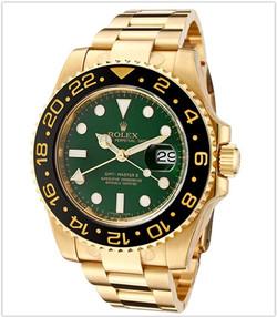 Rolex Men's Master II Automatic GMT Gree
