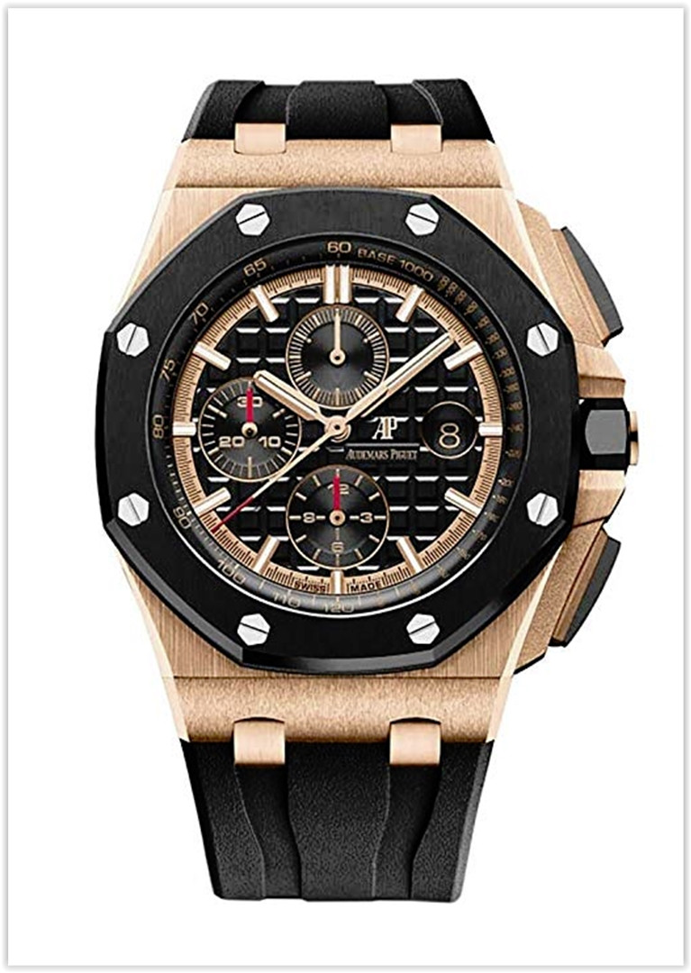 Audemars Piguet AP Royal Oak Offshore Chronograph 44mm Rose Gold Novelty Men's Watch price