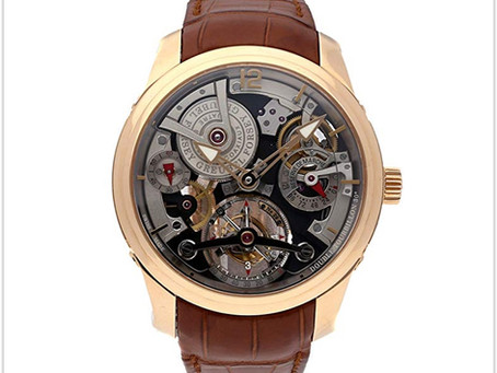 Legendary Watches Series 2: Greubel Forsey Tourbillon Mechanical Skeletonized