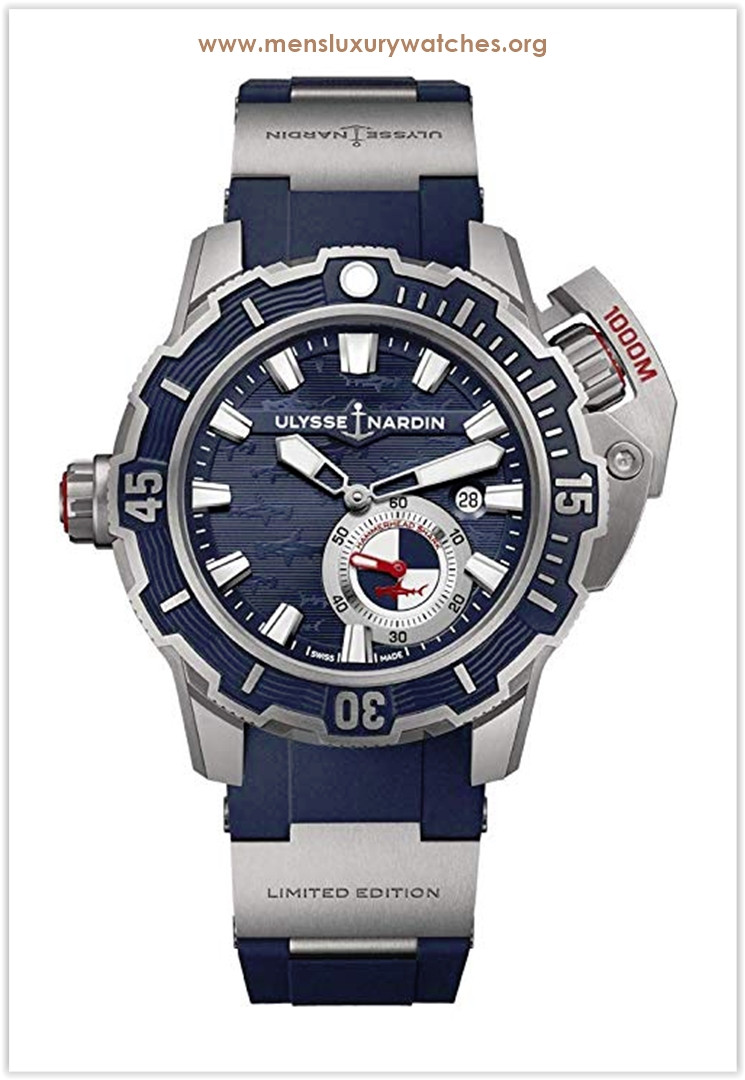Ulysse Nardin Diver Deep Dive Limited Edition Men's Watch the best price