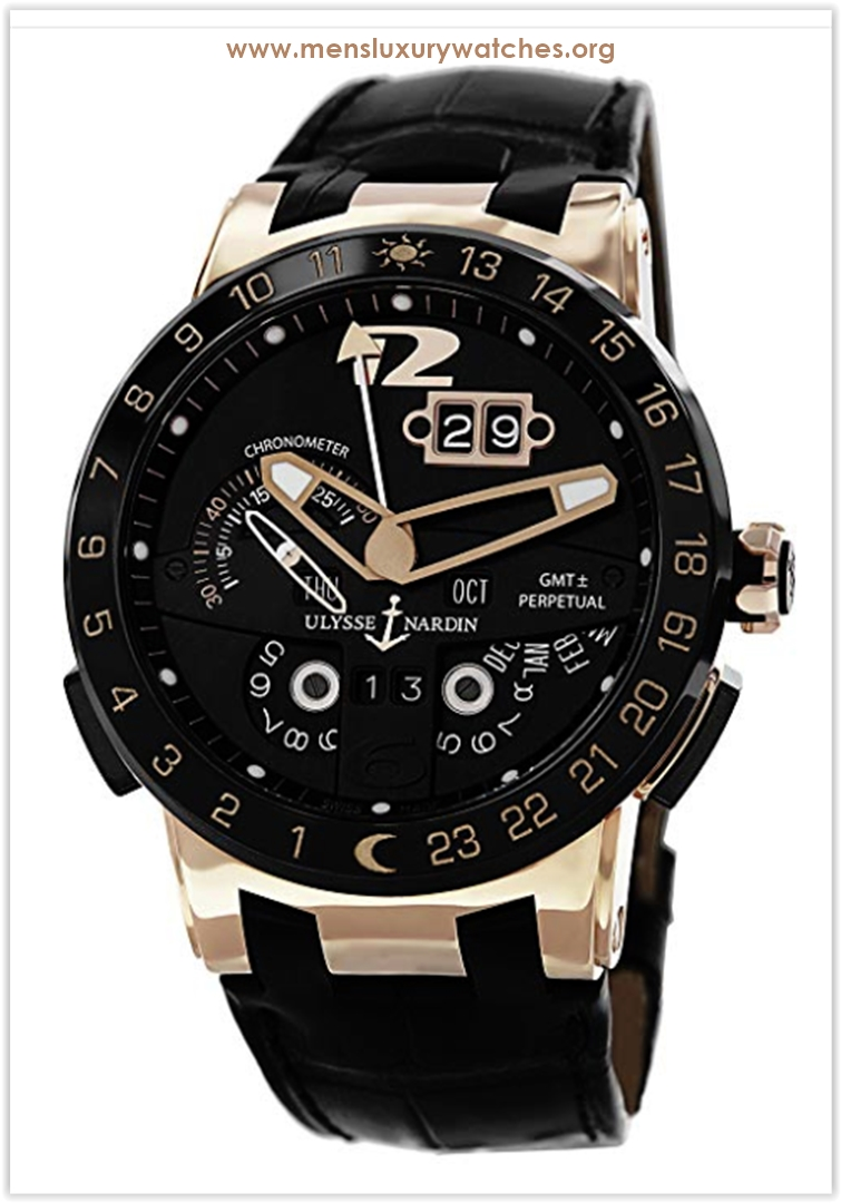Ulysse Nardin El Toro Black Leather Stra