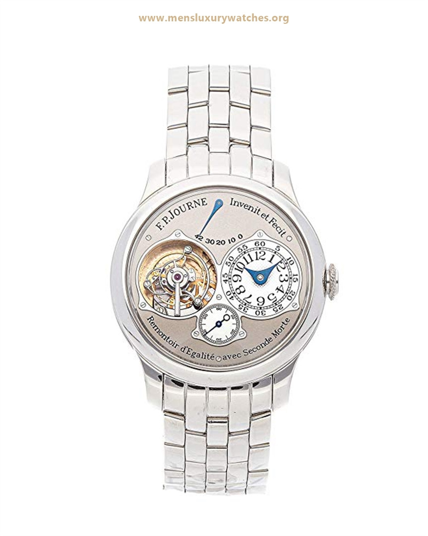 F.P. Journe Souverain Mechanical (Hand-Winding) Grey Dial Men's Watch Price