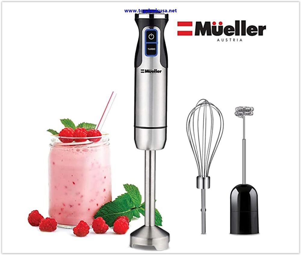 Best buy Mueller Austria Ultra-Stick 500 Watt 9-Speed Immersion Multi-Purpose Hand Blender