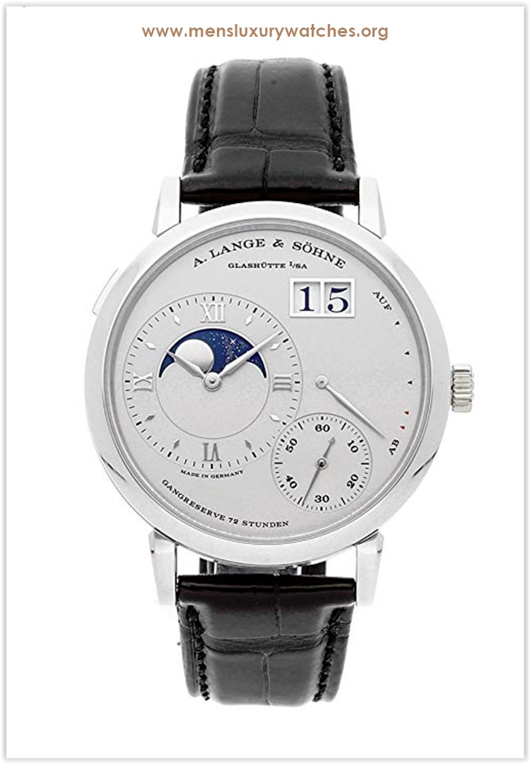 A. Lange & Sohne Grand Lange 1 Mechanical (Hand-Winding) Silver Dial Men's Watch Price