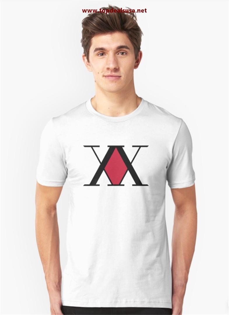 Hunter x Hunter Logo Slim Fit T-Shirt best buy
